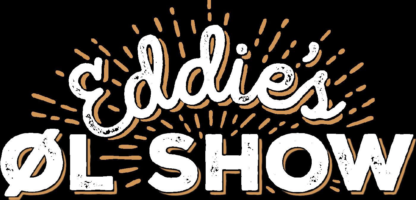 Eddies Ølshow hvid flad